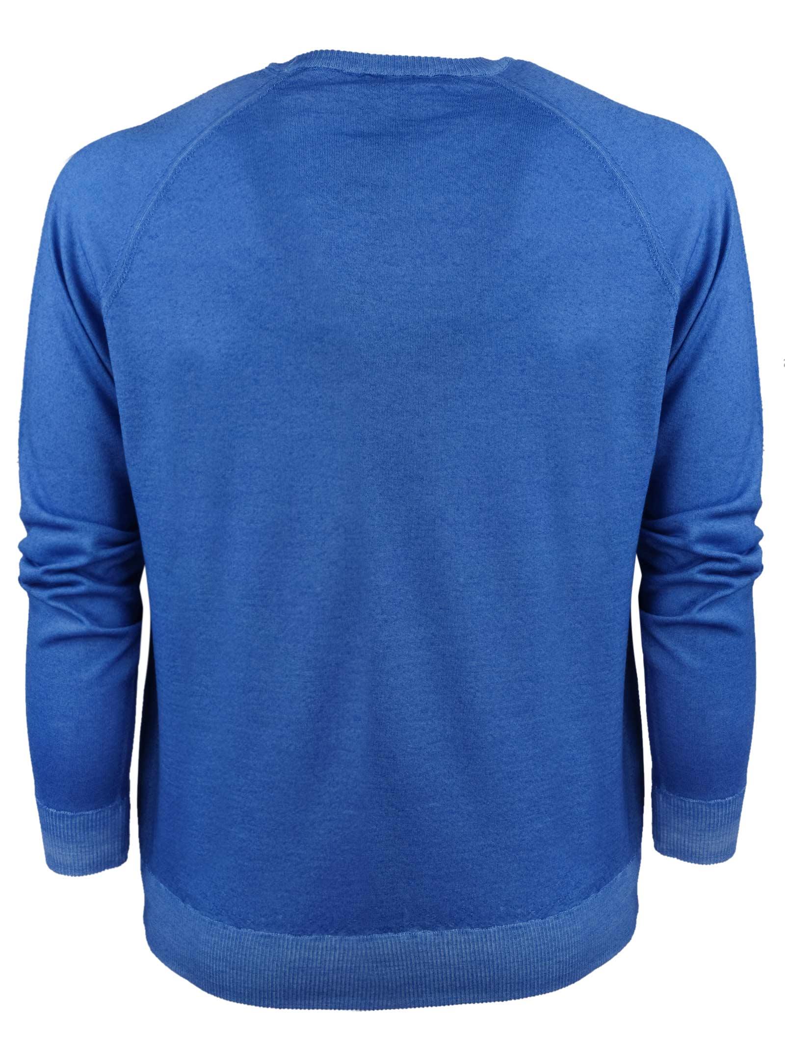 Pullover in lana merino modello felpa H953 | Maglieria | 317172