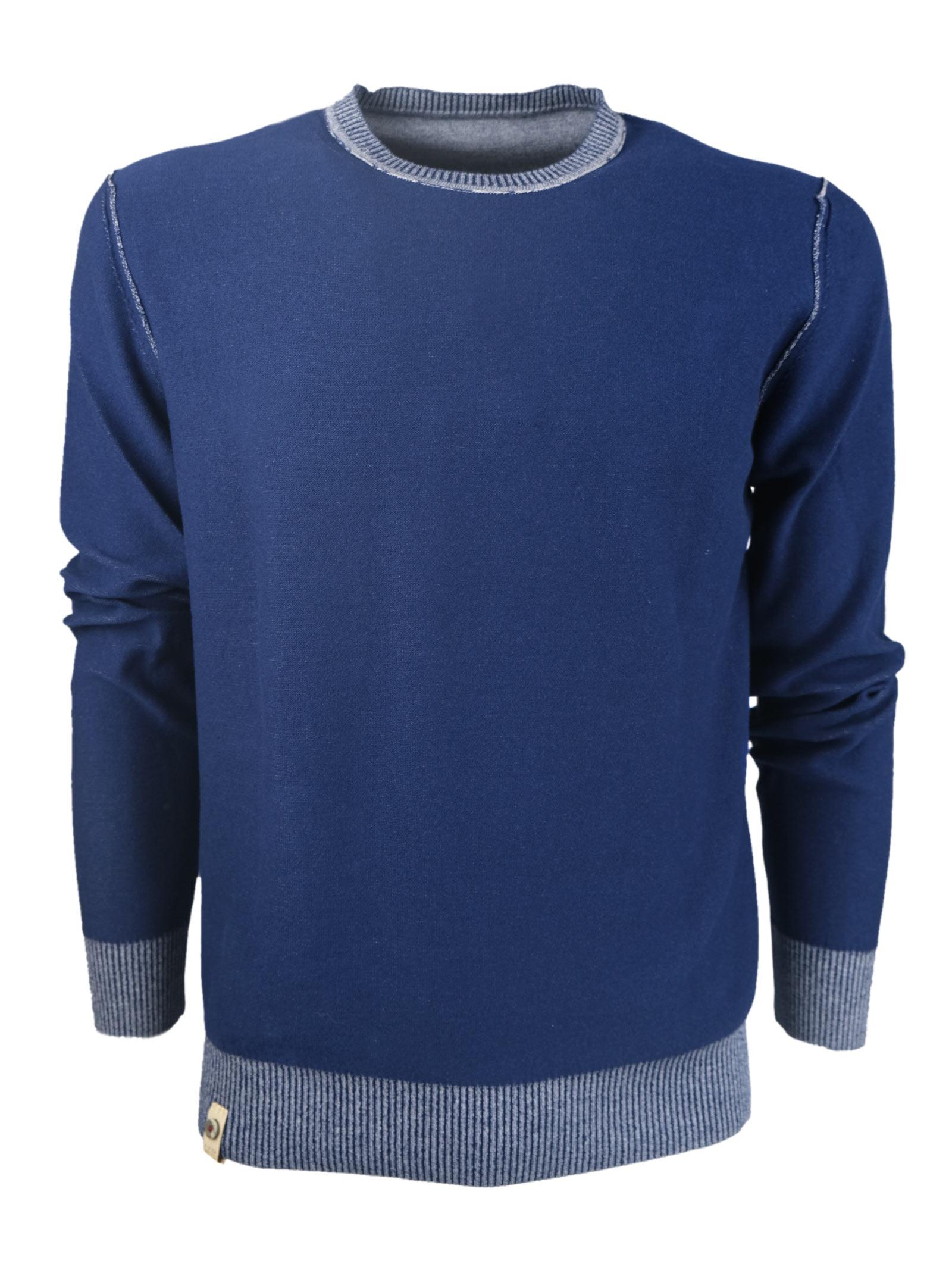 DOUBLE FACE CREW NECK H953 | Knitwear | 32140089