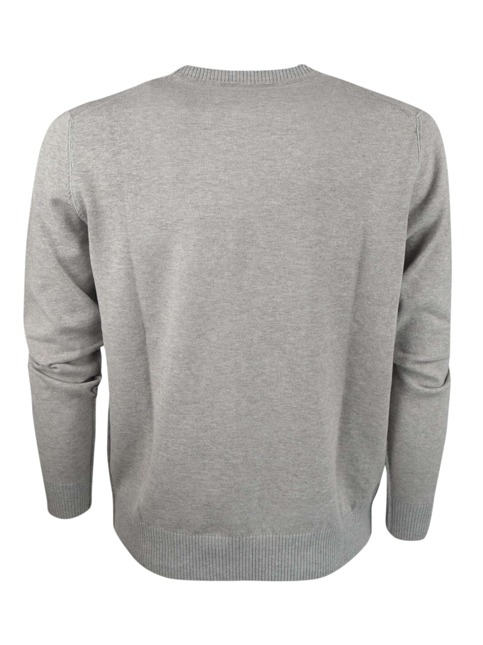 DOUBLE FACE CREW NECK H953 | Knitwear | 32141004