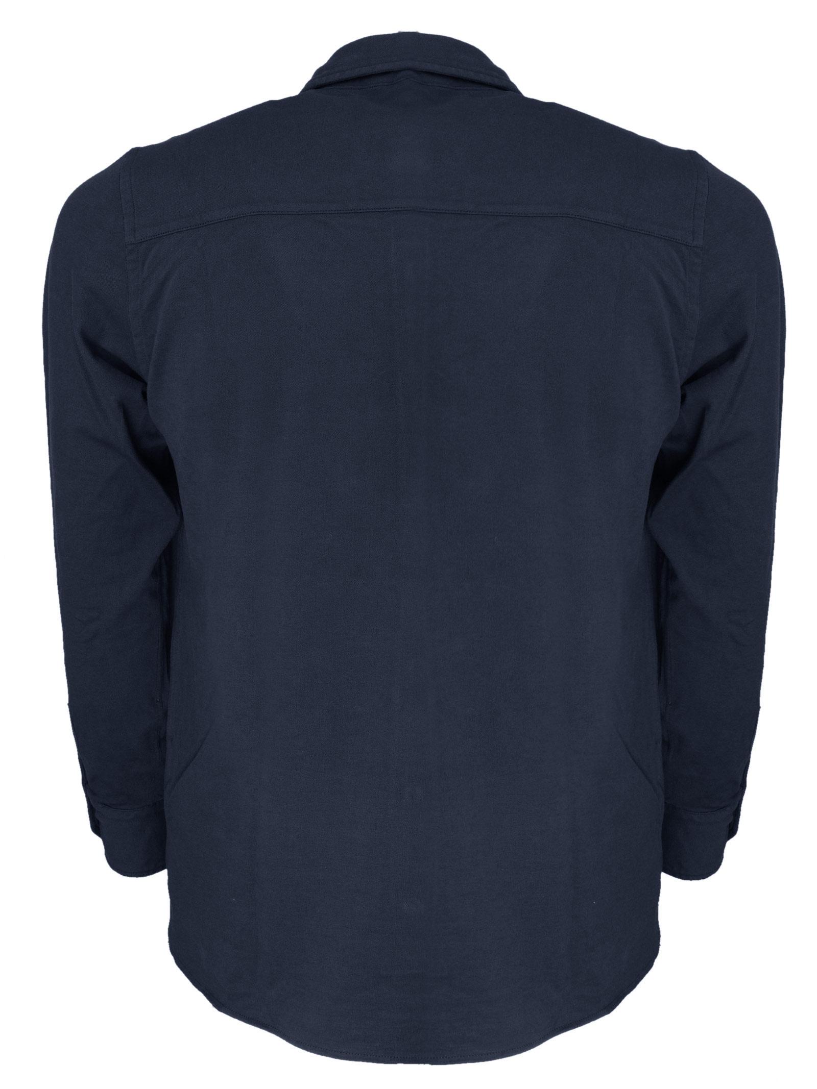 Polo camicia maniche lunghe in micro piquet H953 | Polo | 325590