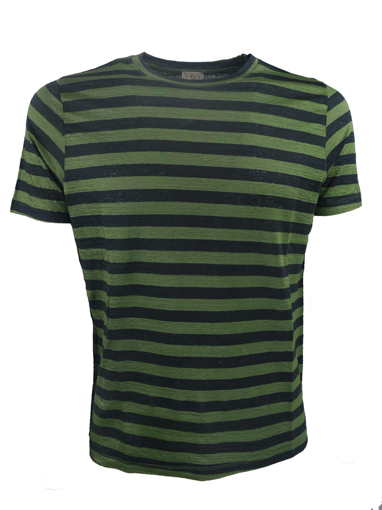T-SHIRT LINO RIGATA H953 | T- shirt | 329722