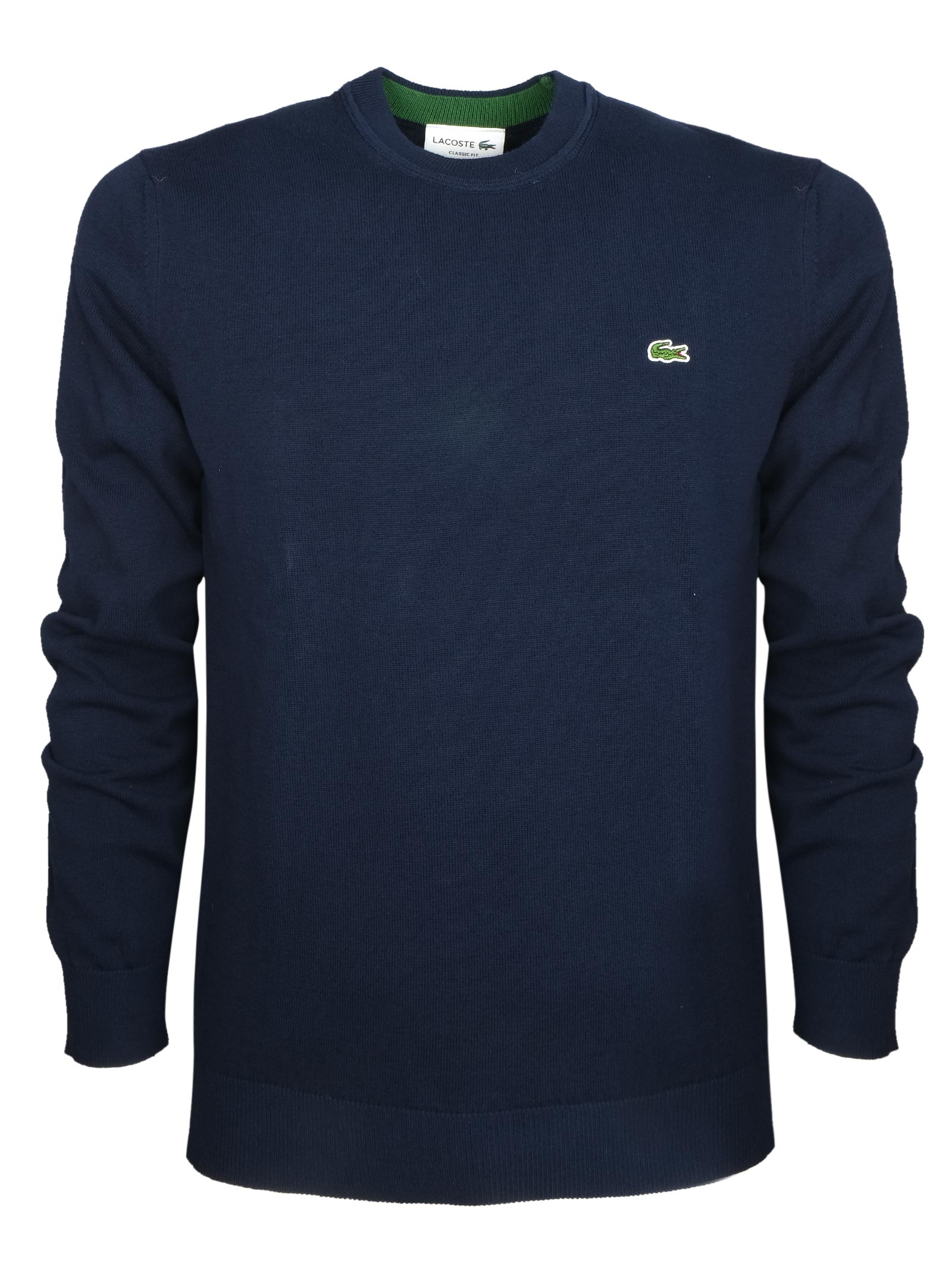 Cotton crew neck LACOSTE | Knitwear | AH2193166
