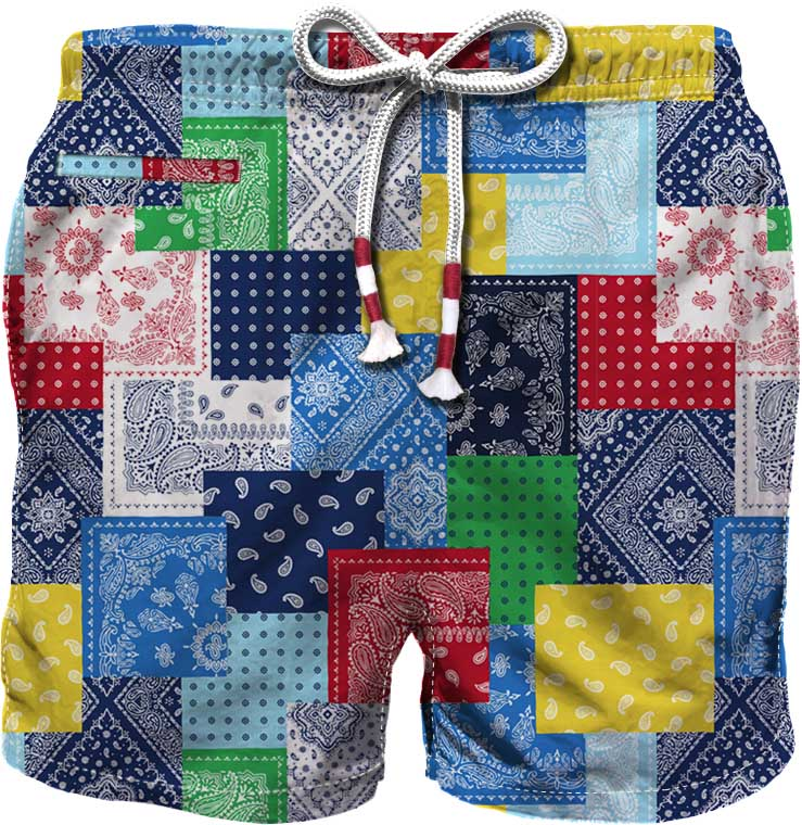 costume mare da uomo MC2  SAINT BARTH | Costume | CAPRESE PATCHPTBC31