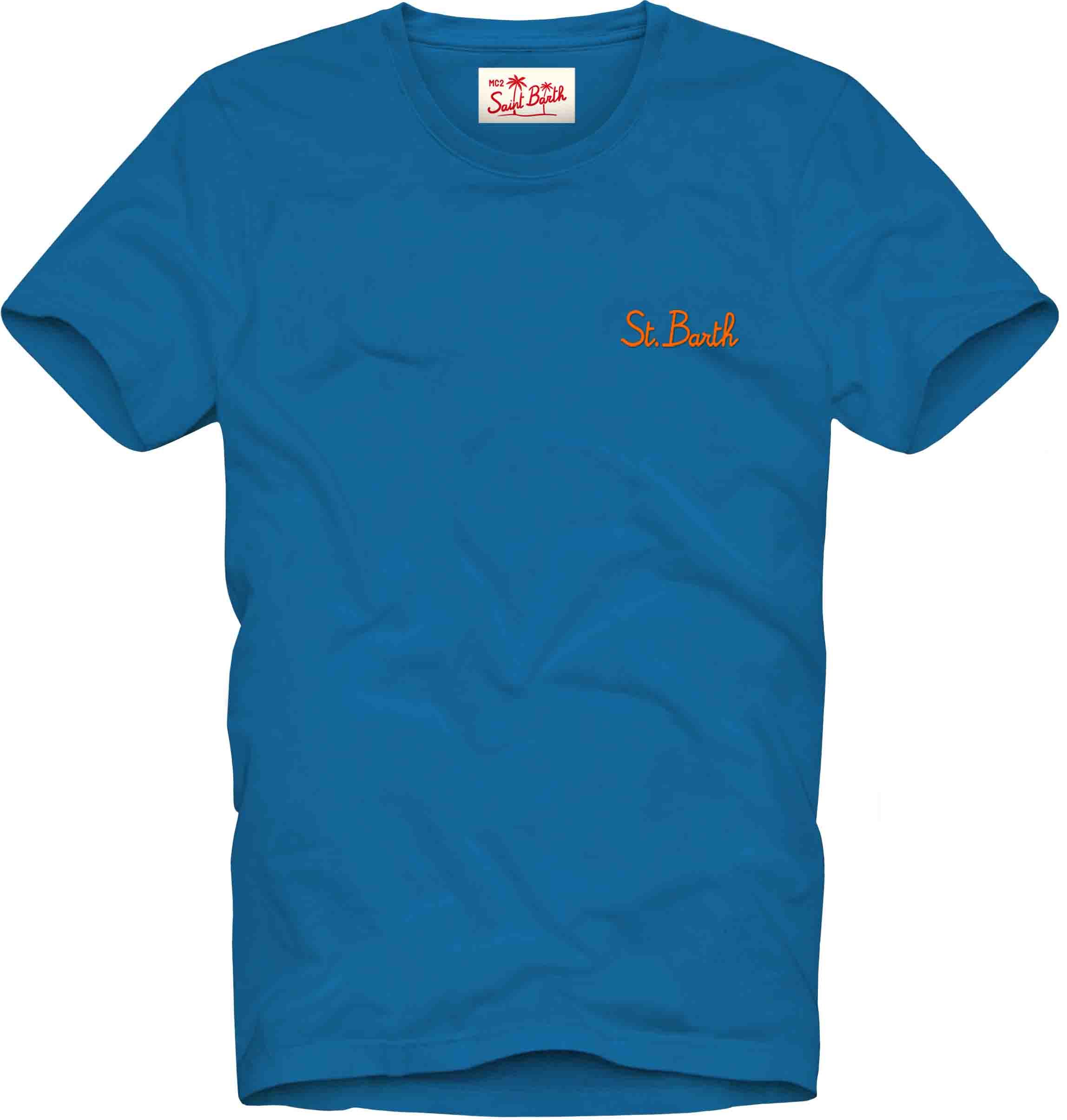 t-shirt tinto capo MC2  SAINT BARTH   T- shirt   DOV0001SB1781