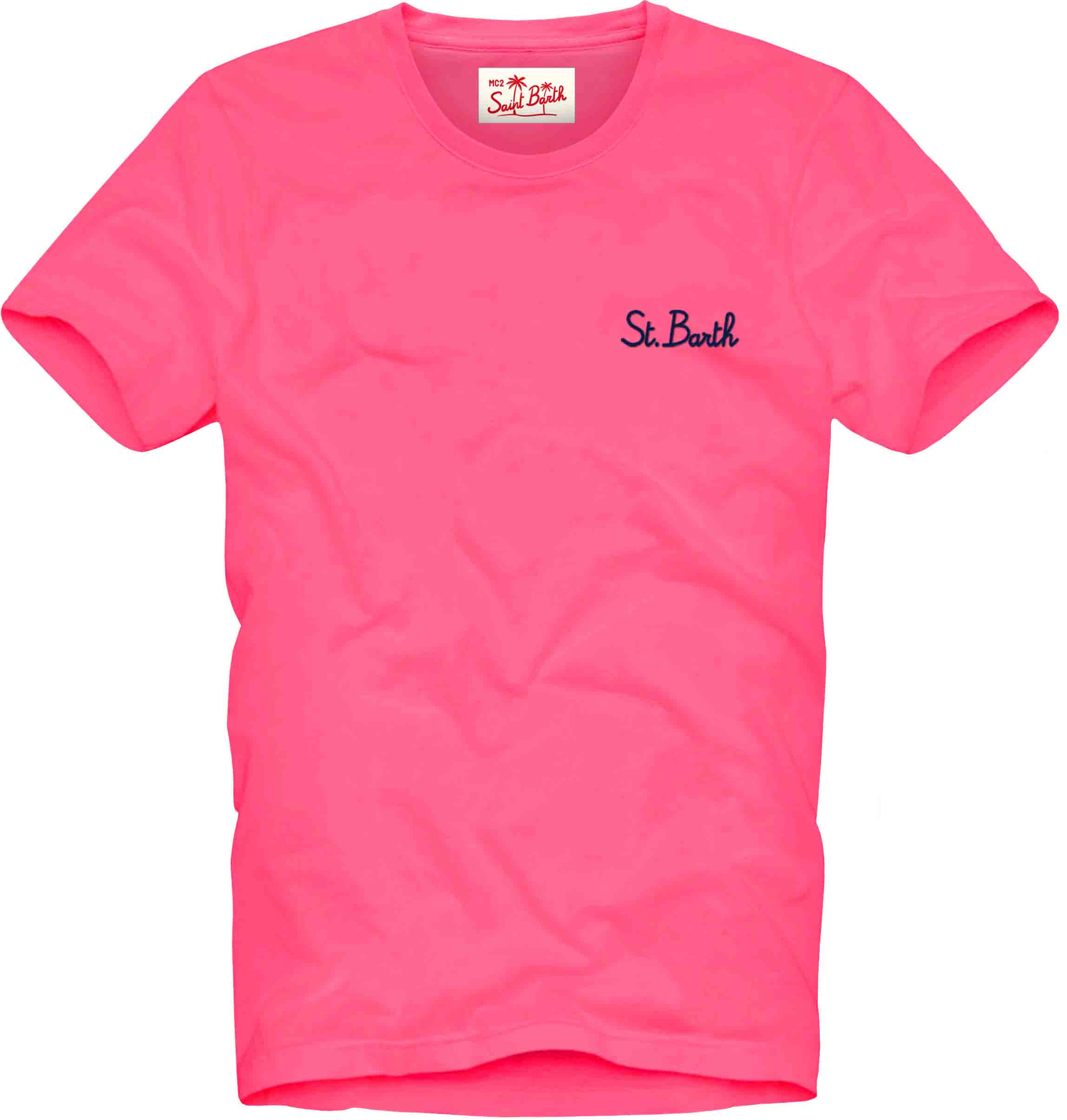 T-Shirt garment dyed MC2  SAINT BARTH | T-shirts | DOV0001SB256