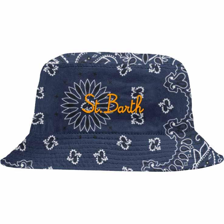 Bucket hat bandana style MC2  SAINT BARTH | Accessories | JAE0001SBNR68