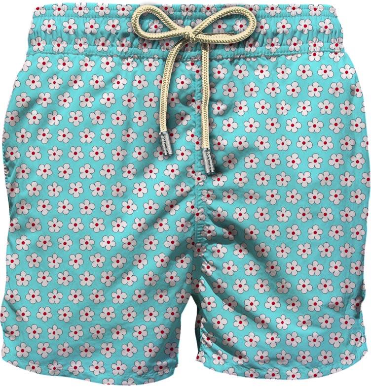 Light fabric swim short MC2  SAINT BARTH |  | LIG0003ASHL56