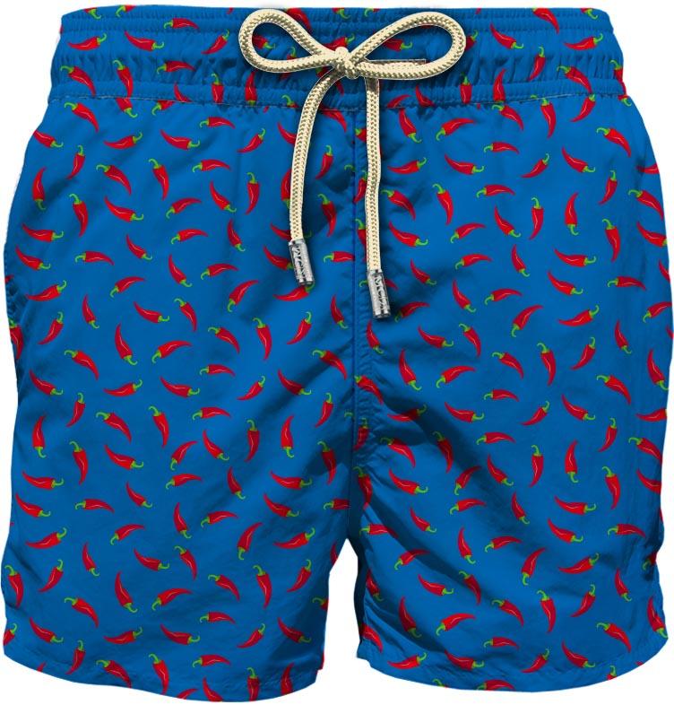 Light fabric swim short MC2  SAINT BARTH |  | LIG0003CHLP17