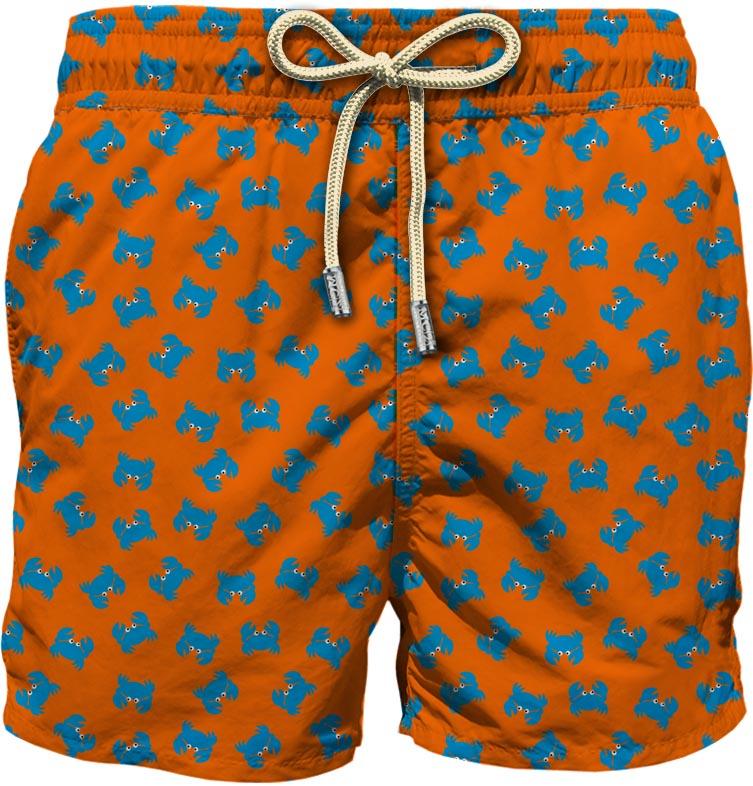 Light fabric swim short MC2  SAINT BARTH |  | LIG0003CRBF83
