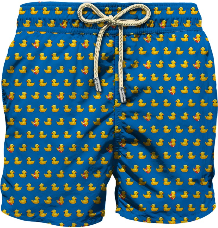 Light fabric swim short MC2  SAINT BARTH      LIG0003DUC17