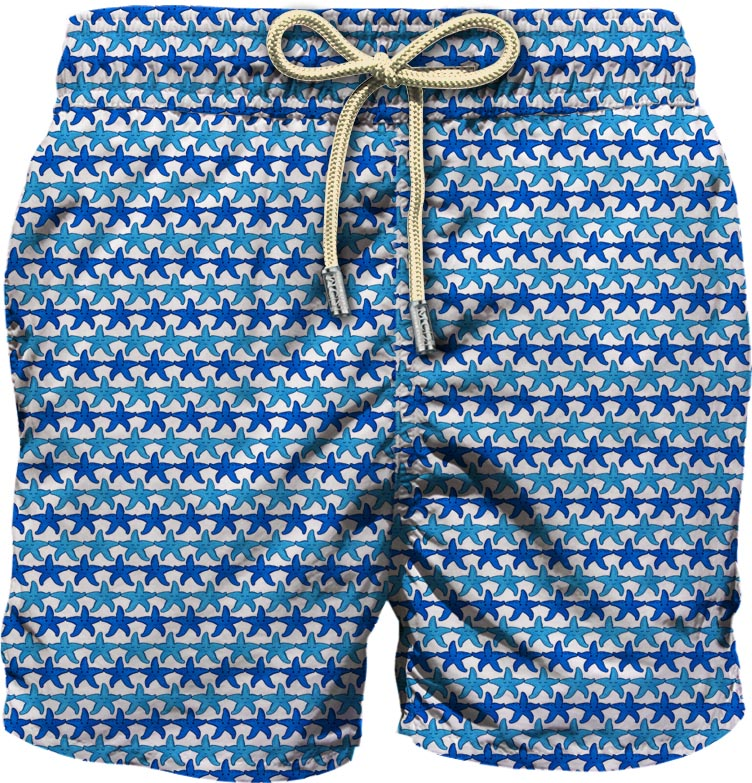 Light fabric swim short MC2  SAINT BARTH |  | LIG0003FRST01