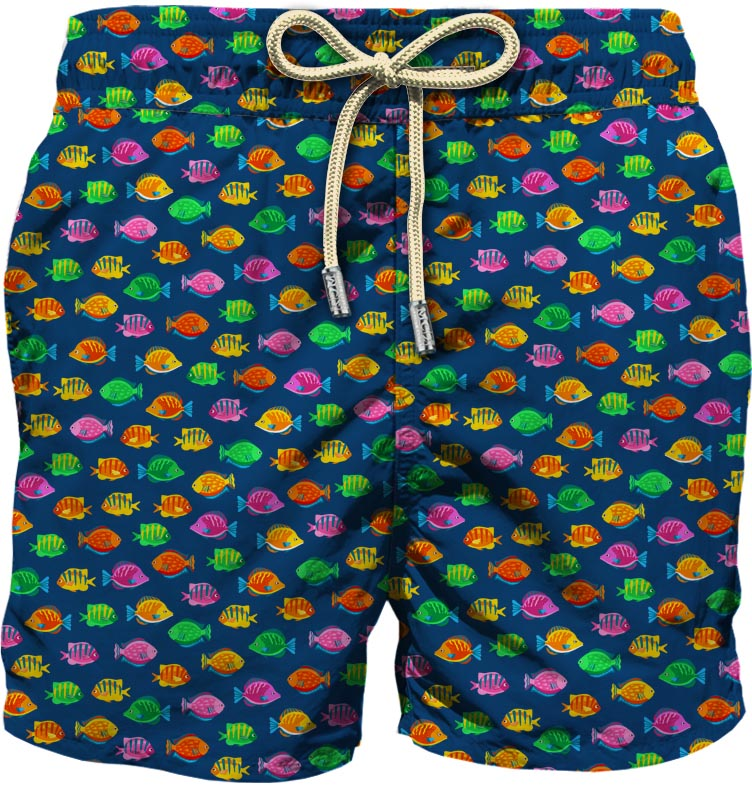Light fabric swim short MC2  SAINT BARTH |  | LIG0003FSLN61