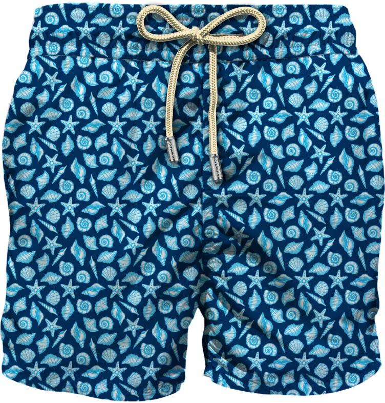 Light fabric swim short MC2  SAINT BARTH      LIG0003LSES61