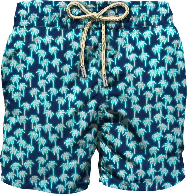 Light fabric swim short MC2  SAINT BARTH |  | LIG0003NEPL63