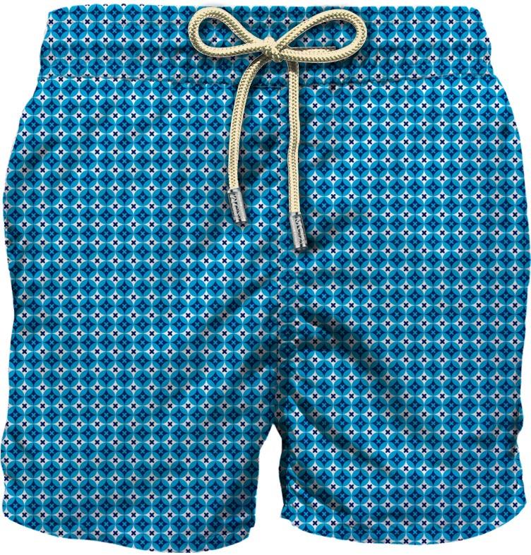 Light fabric swim short MC2  SAINT BARTH |  | LIG0003RMCR63