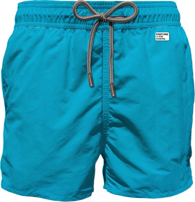 Light fabric swim short MC2  SAINT BARTH |  | LIG000458