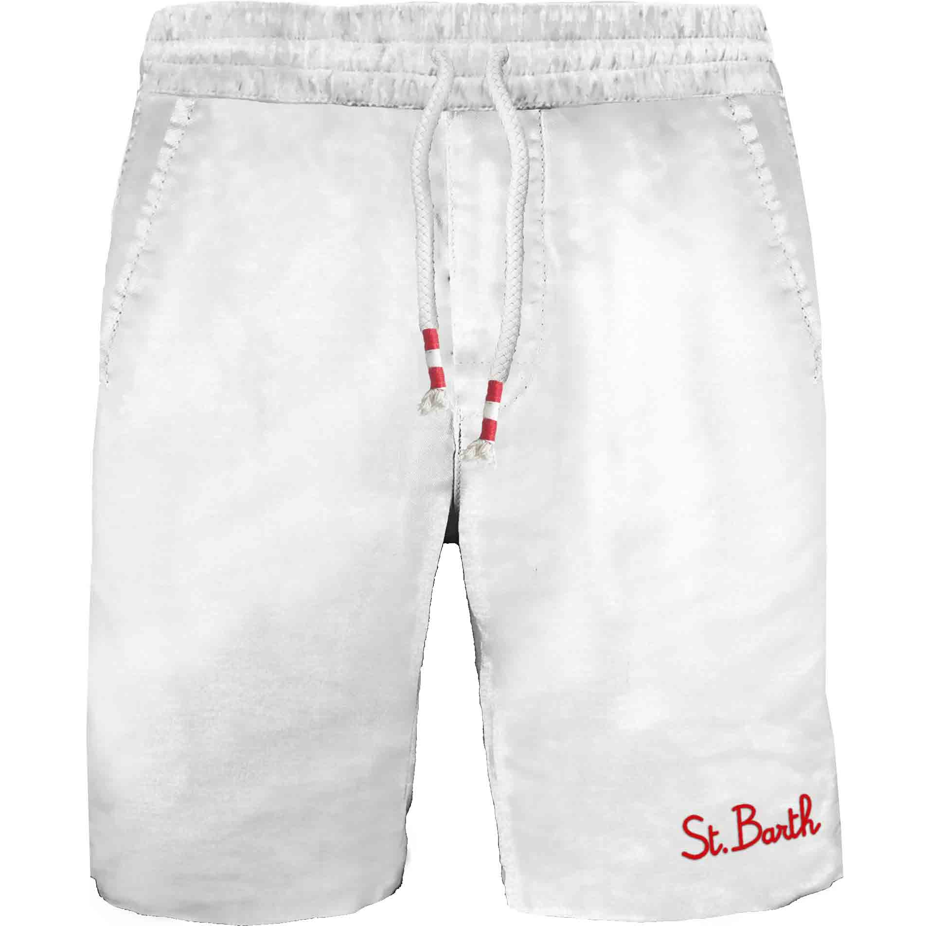 Sweat short with emboirdery MC2  SAINT BARTH | Shorts | RANL004FADE01