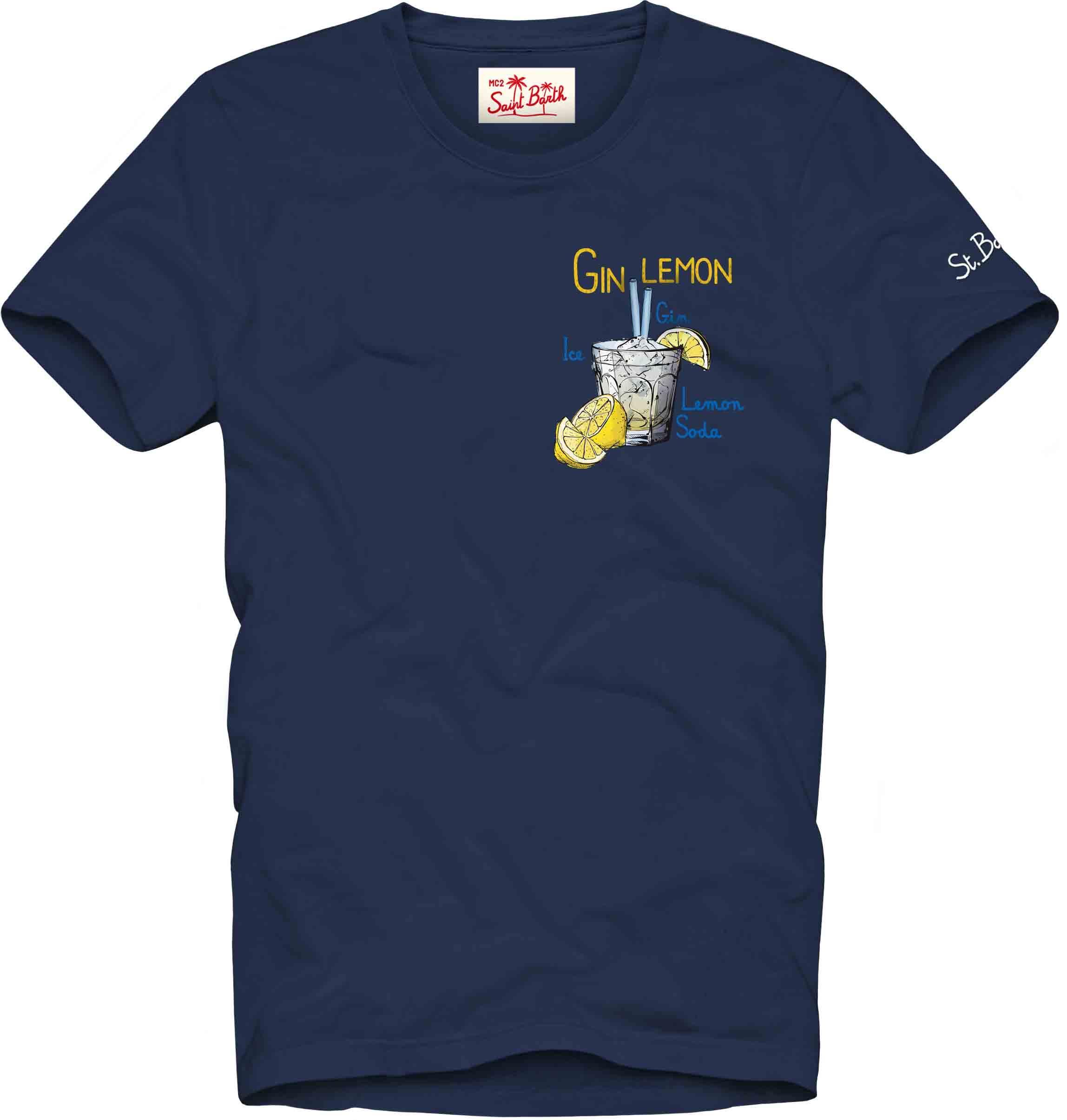 Printed T-shirt MC2  SAINT BARTH | T-shirts | TSHM001EMGL61