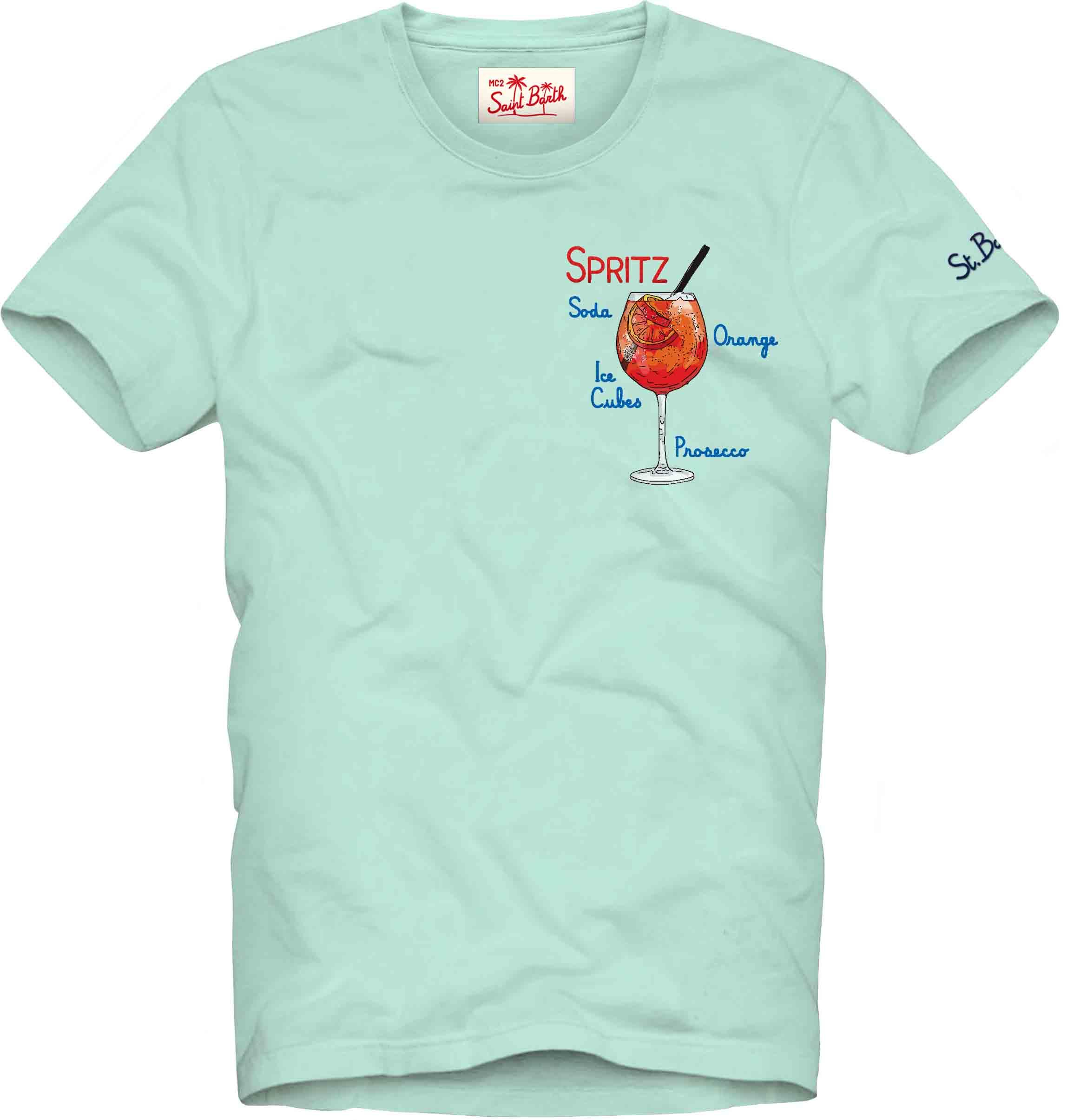 Printed T-shirt MC2  SAINT BARTH   T-shirts   TSHM001ESPR56