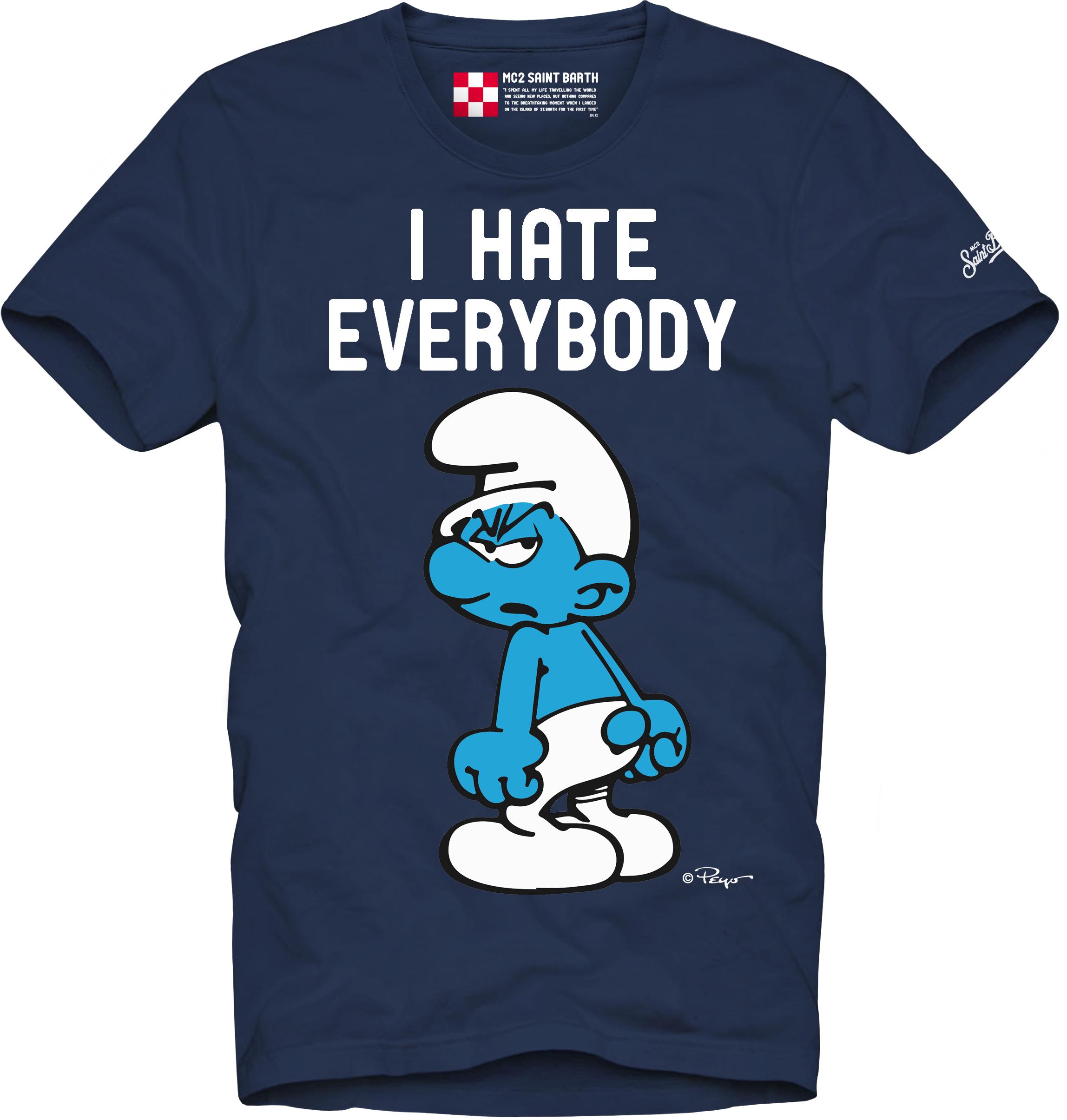 Printed T-shirt MC2  SAINT BARTH | T-shirts | TSHM001EVSM61