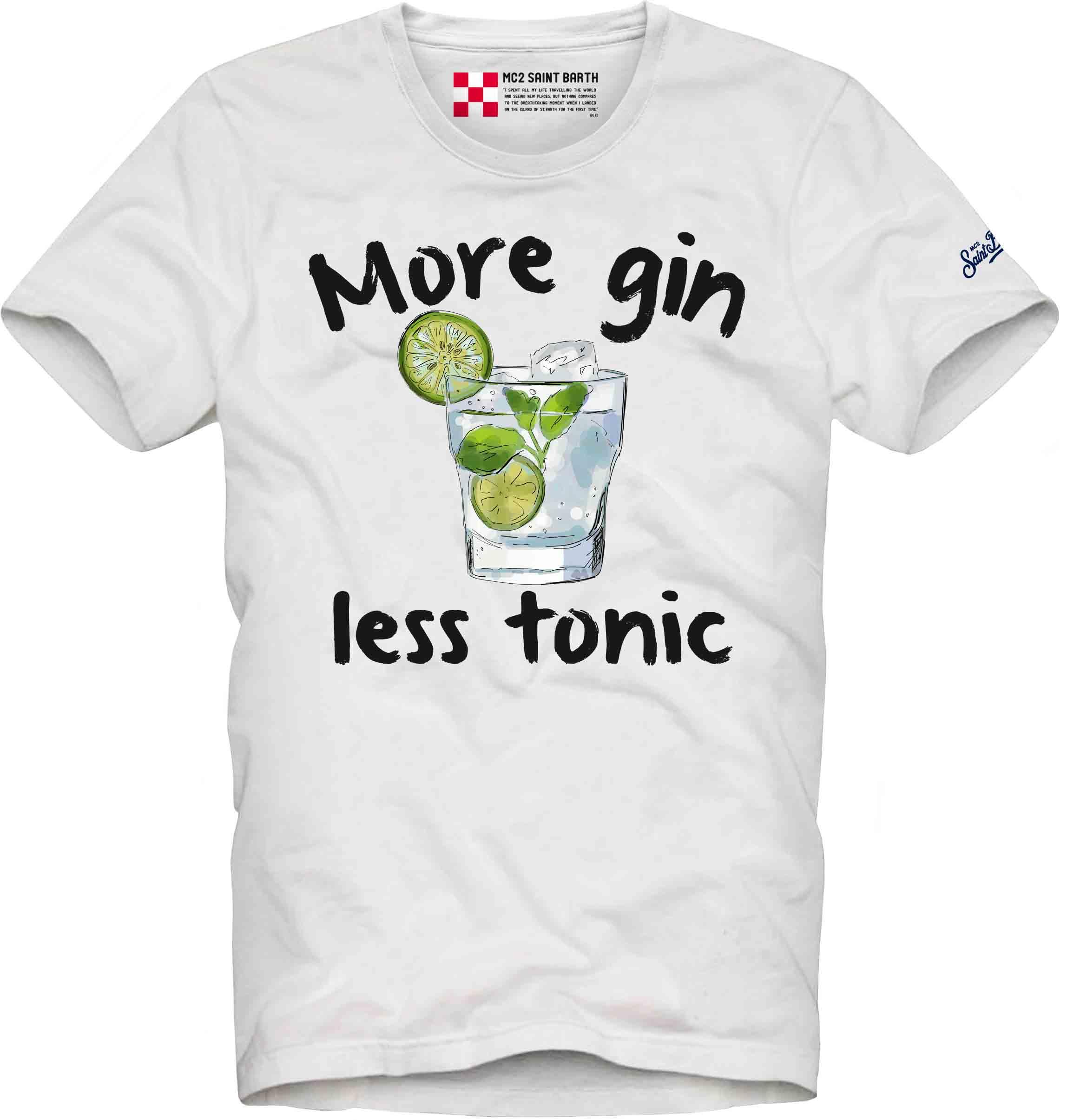 Printed T-shirt MC2  SAINT BARTH | T-shirts | TSHM001FUTO1N