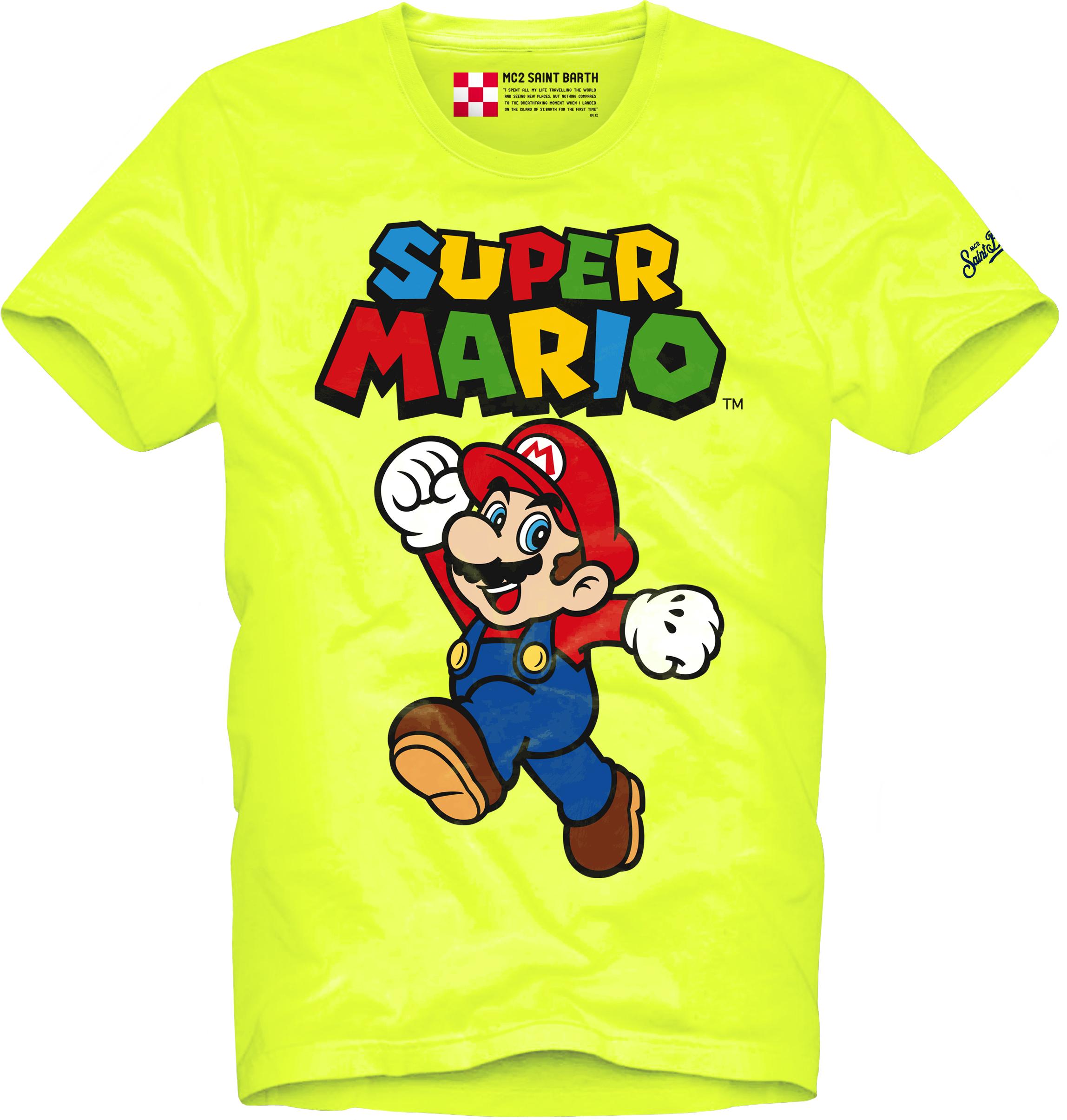 T-SHIRT CON STAMPA MC2  SAINT BARTH   T- shirt   TSHM001MAJU94