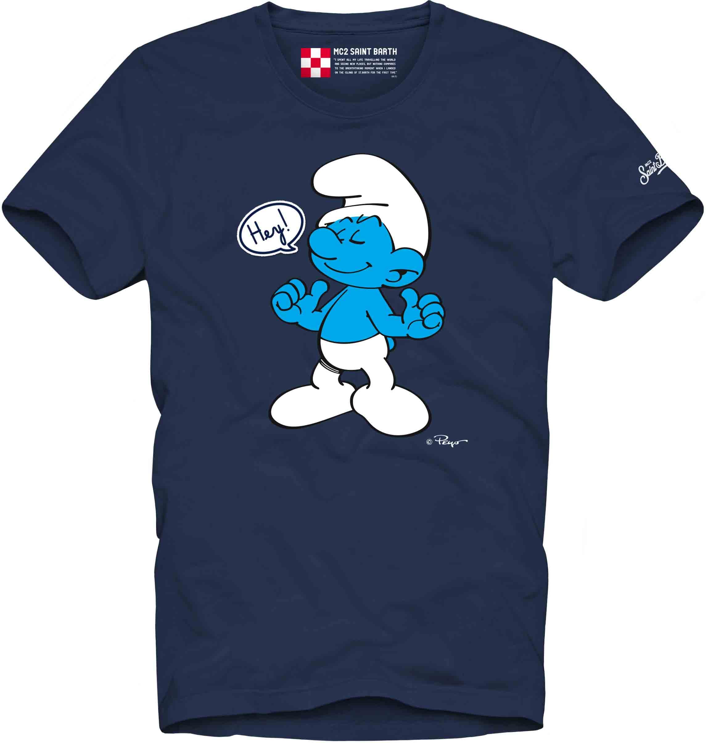 T-shirt con stampa MC2  SAINT BARTH   T- shirt   TSHM001PTSH61