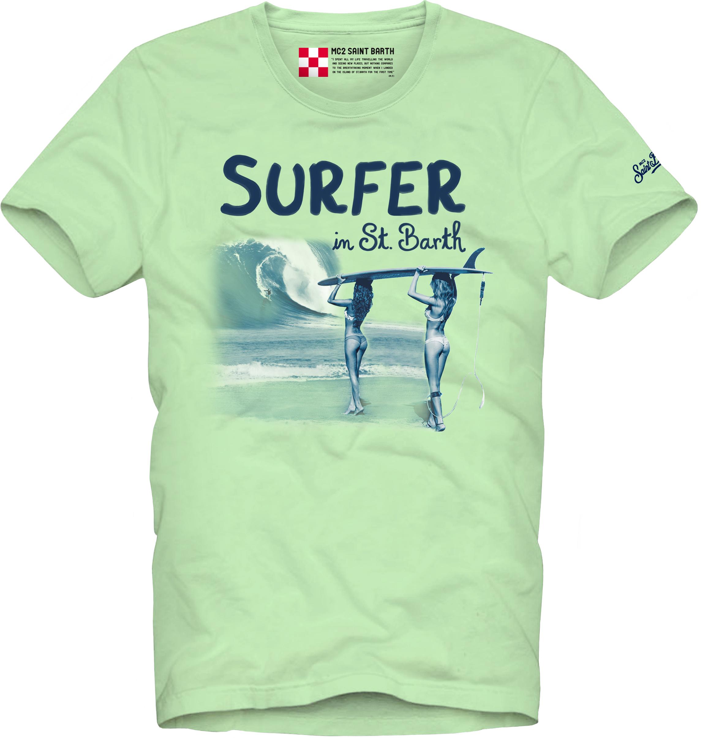 Printed T-shirt MC2  SAINT BARTH | T-shirts | TSHM001SRGI55