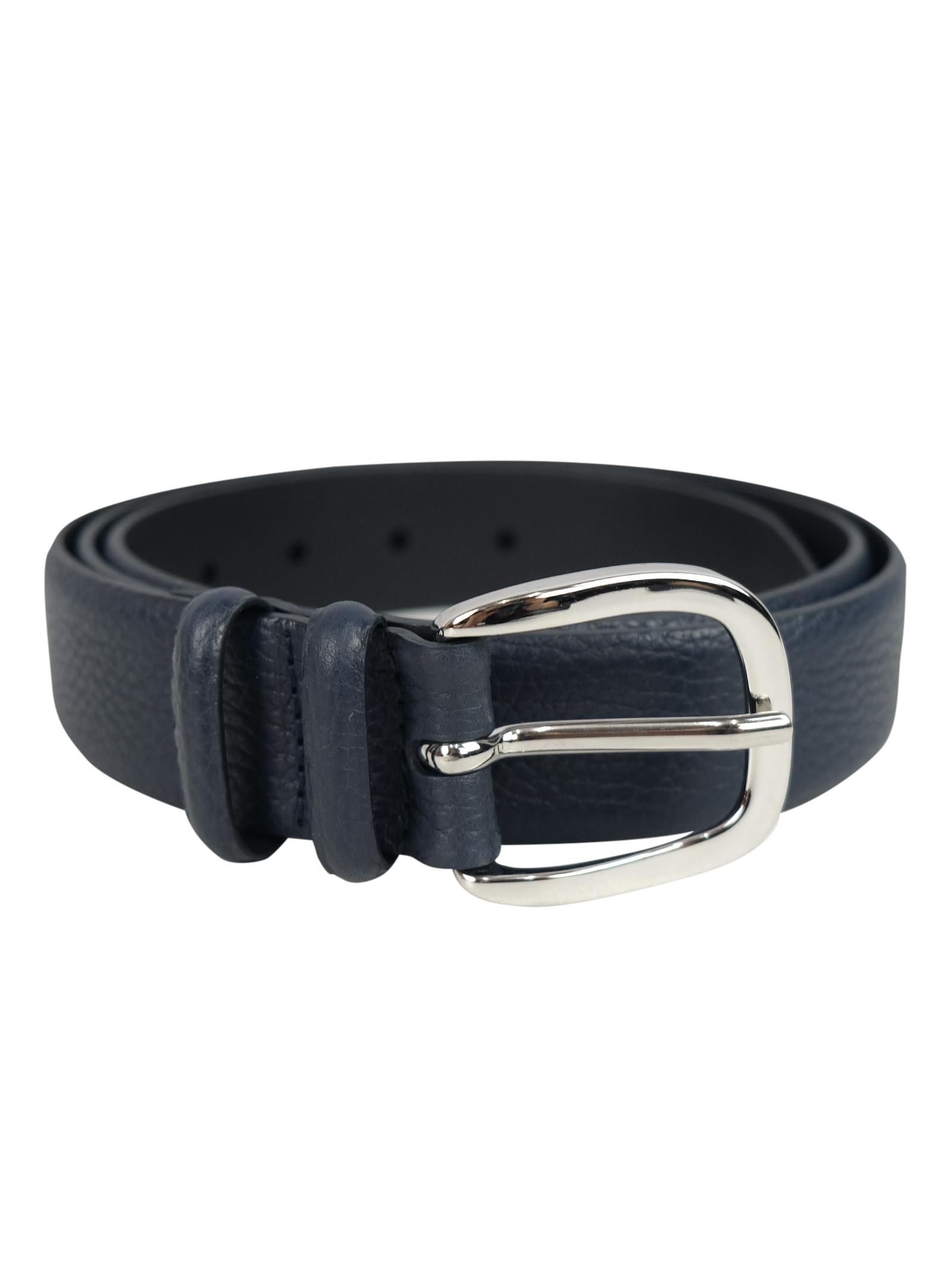 Cintura in pelle martellata ORCIANI | Cinture | 7709NAV