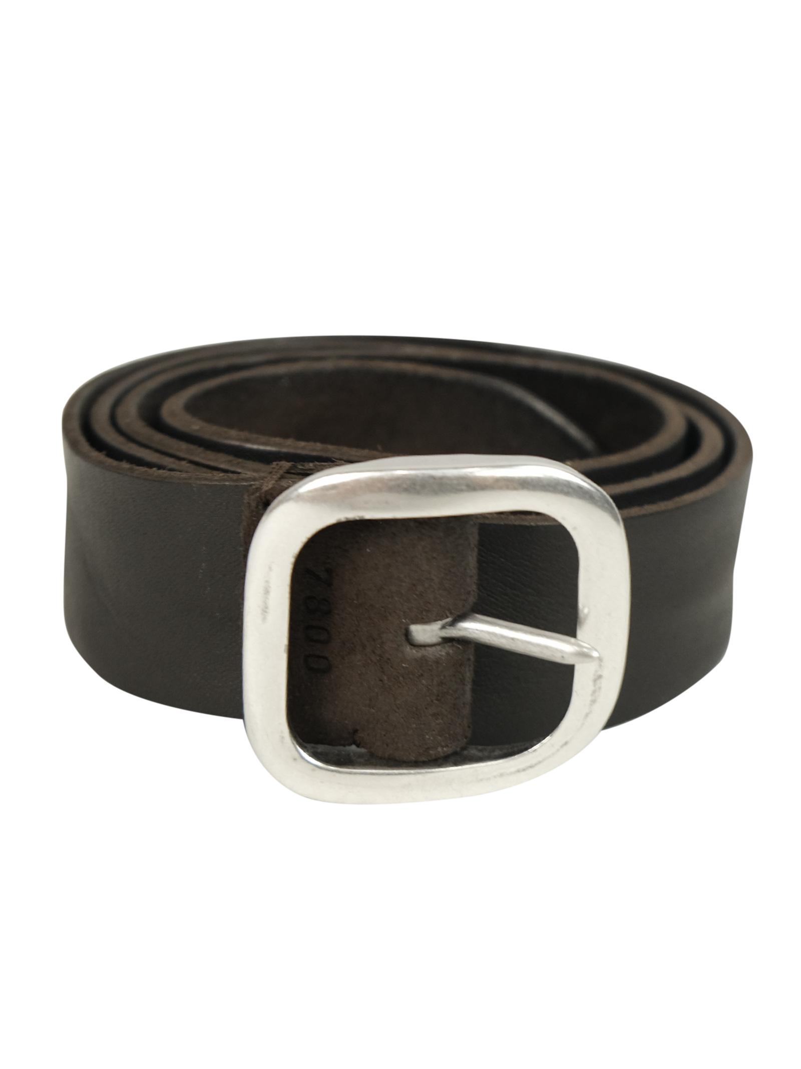 cintura in camoscio abrasivato reversibile ORCIANI   Cinture   7800TMO