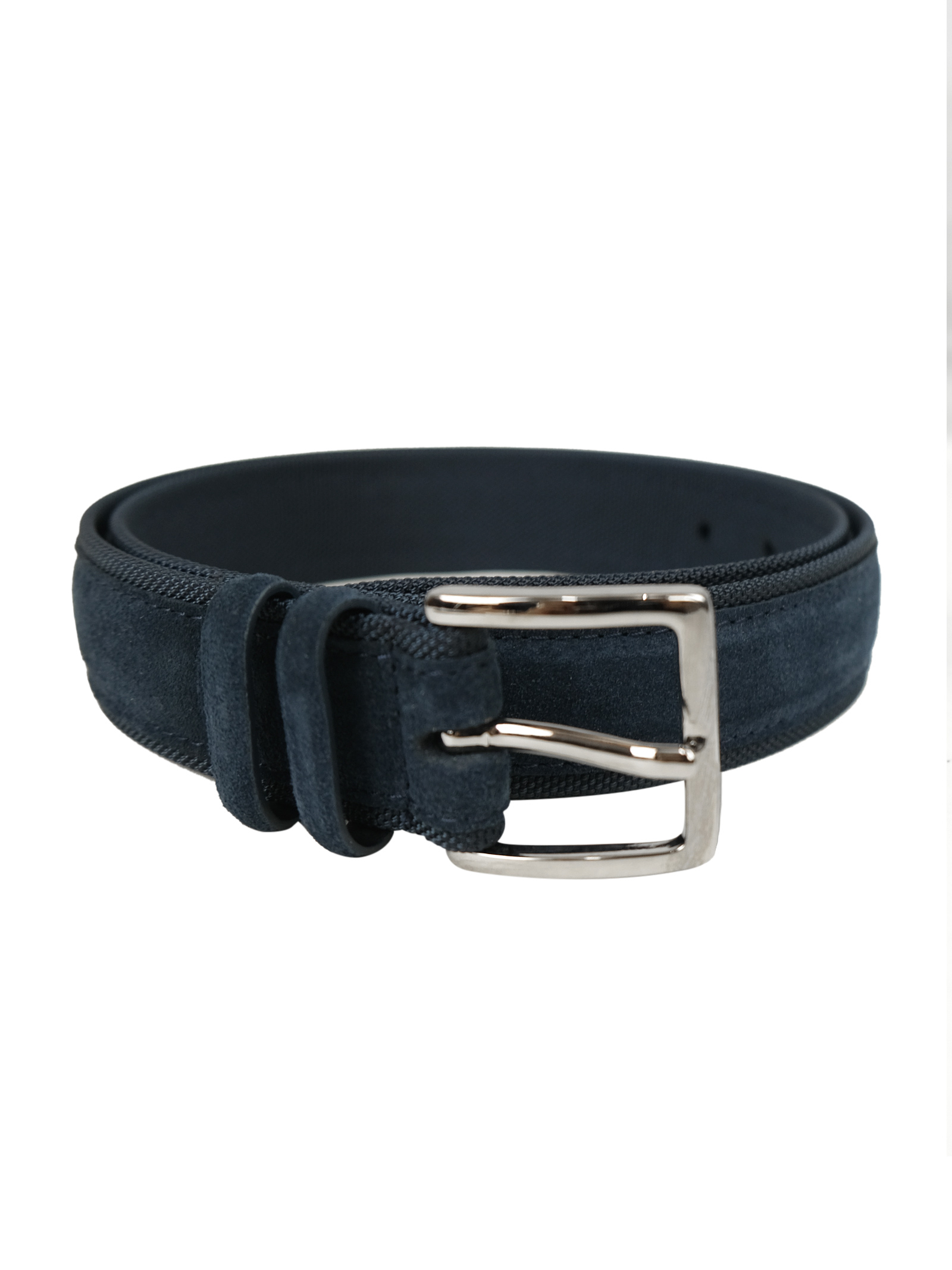 Cintura in camoscio e tessuto tecnico ORCIANI   Cinture   7927NOTTE