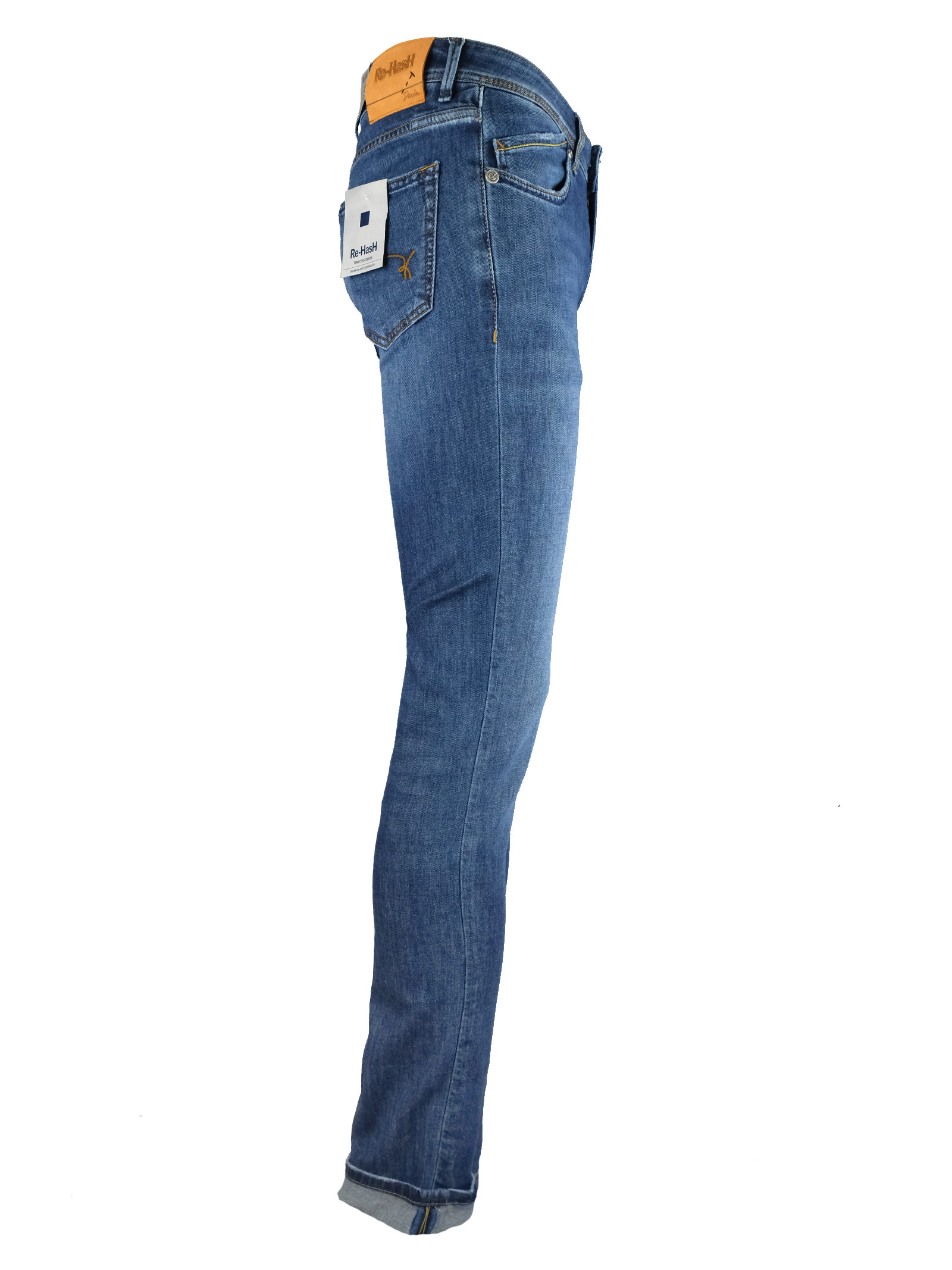 8 OZ. LIGHT DENIM JEANS Re-HasH | Jeans | P4002697HOPPERSZ