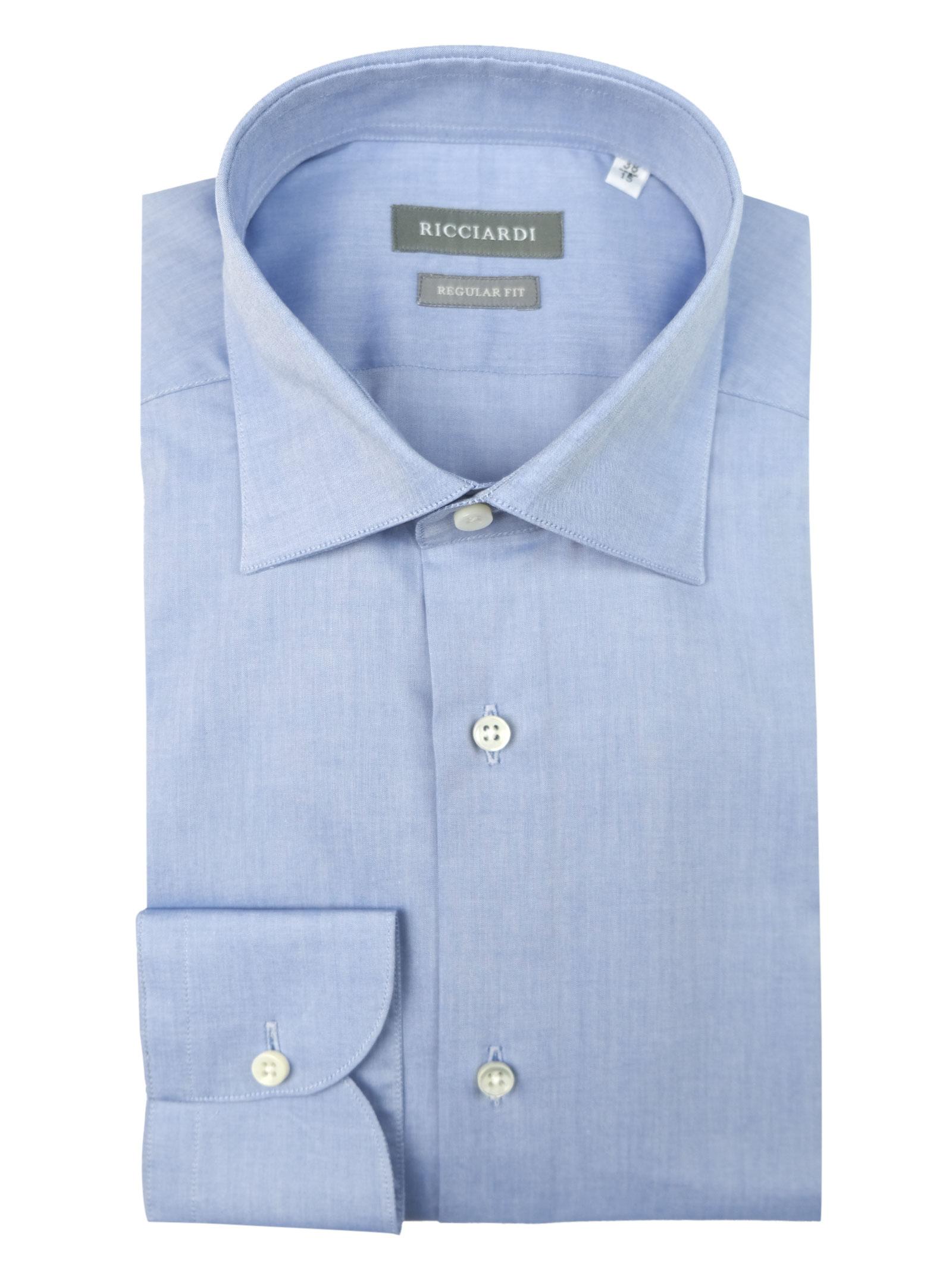 Camicia classica vestibilità SLIM RICCIARDI   Camicie   ADAMODR052