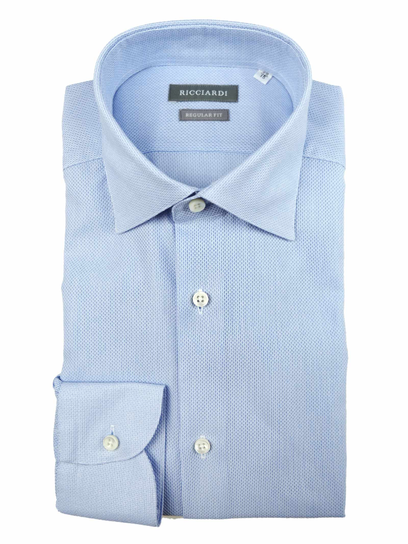 Camicia classica vestibilità regular RICCIARDI   Camicie   ARERD181