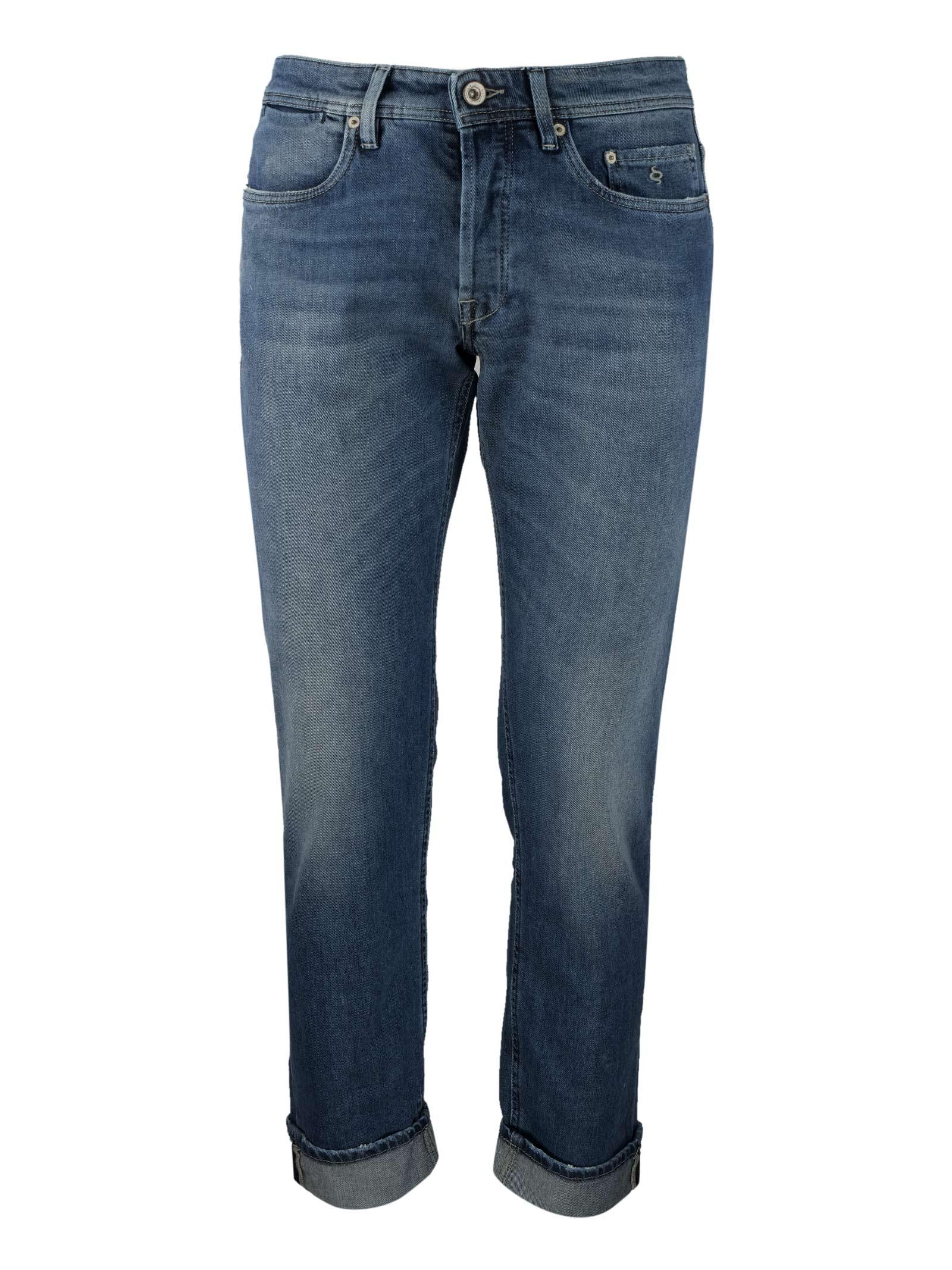 Dark bleached 10oz. jeans SIVIGLIA | Trousers | MQ2000 803406002