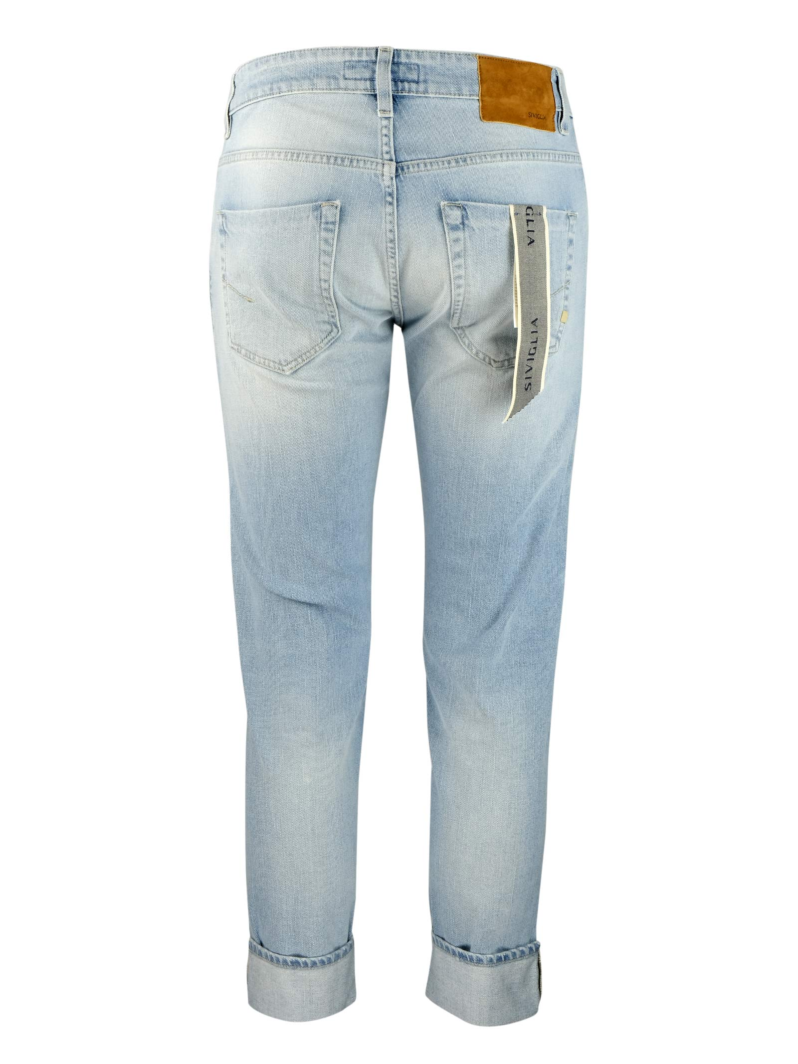 Jeans 10 once lavaggio chiaro SIVIGLIA | Pantaloni | MQ2001 801106003