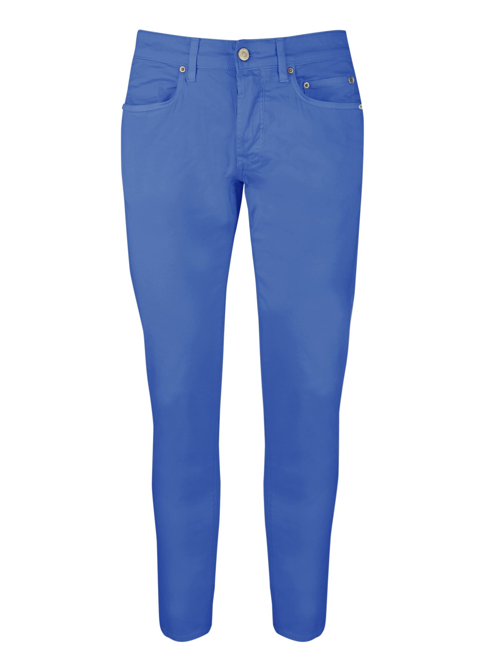 5 pocket light cotton pants SIVIGLIA | Trousers | MQ2001 80220622