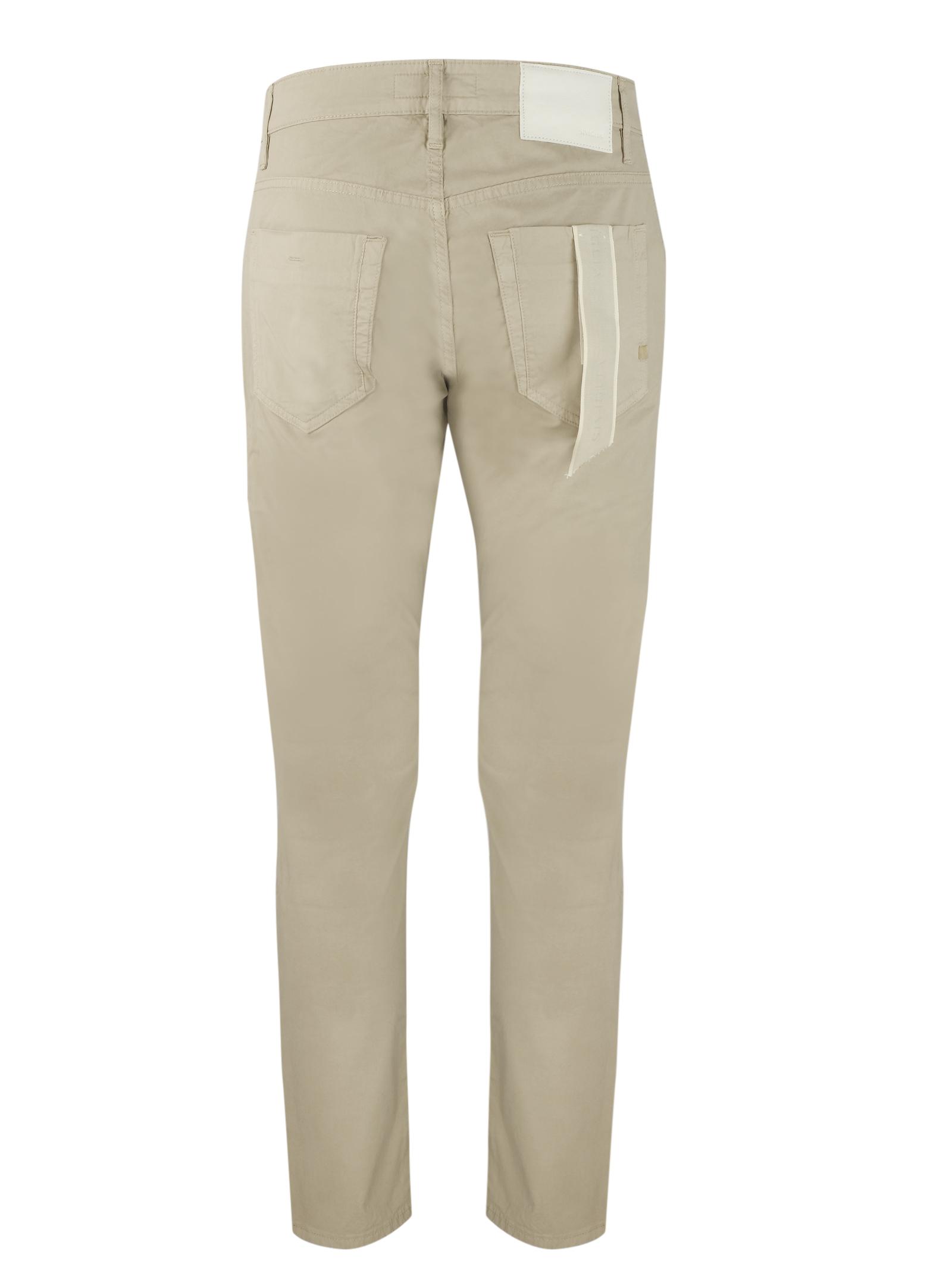 5 pocket light cotton pants SIVIGLIA | Trousers | MQ2002 80230805