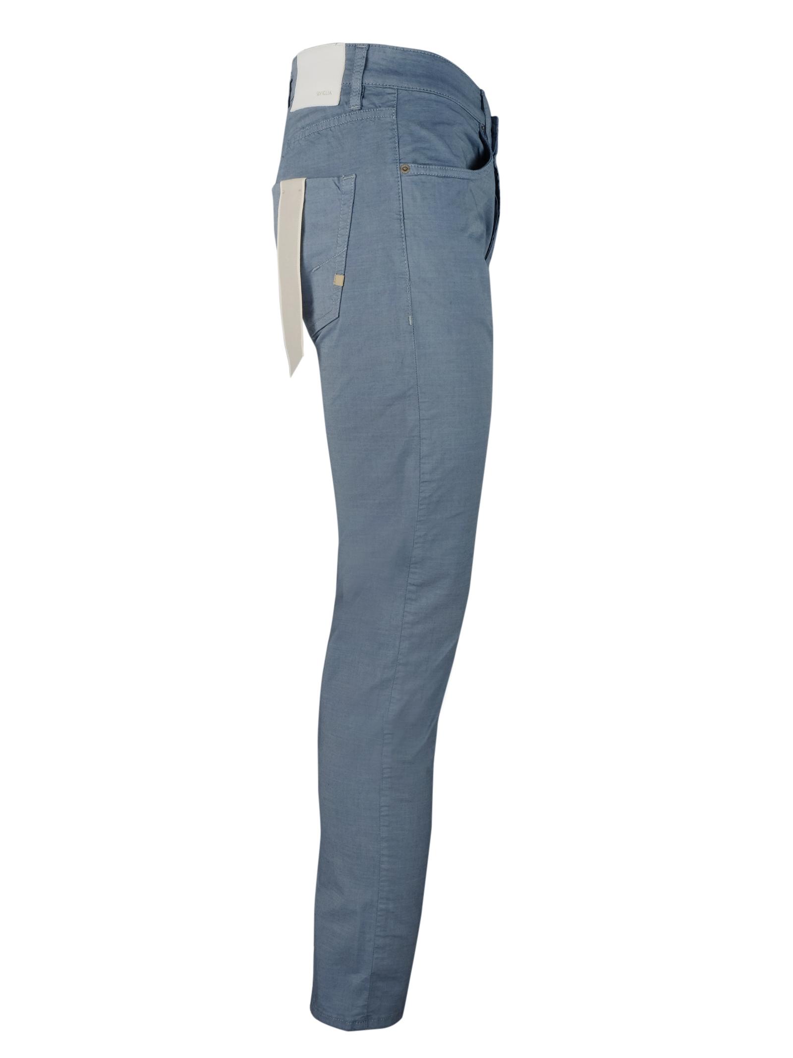 pantaloni 5 tasche in coton SIVIGLIA   Pantaloni   MQ2005 80280826