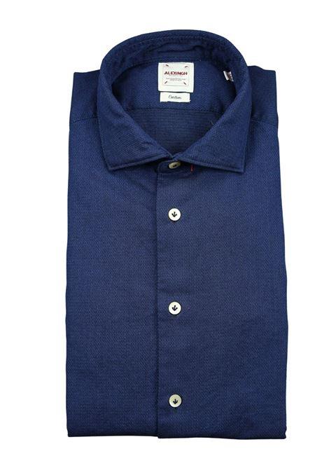 camicia jeans stone washed ALEX INGH | Camicie | SA21W9006 02