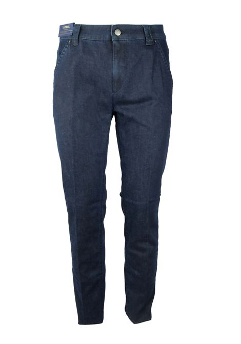 Pantaloni in denim e cashmere BARMAS | Jeans | HEAVY B041L002