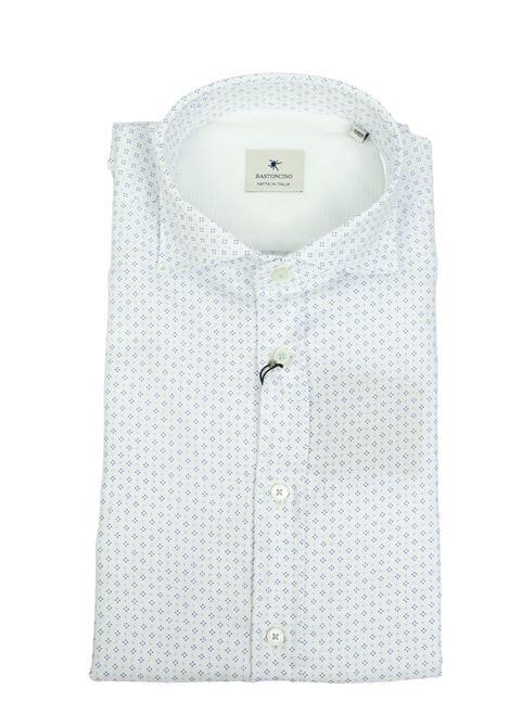 Camicia regular in twill di cotone tinto capo BASTONCINO | Camicie | SART1657