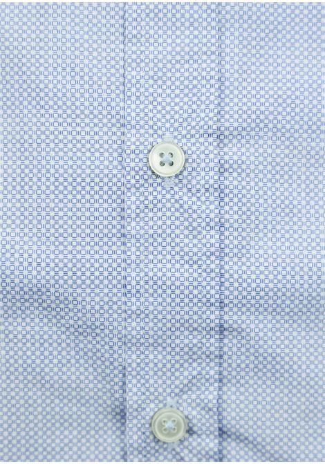camicia microfantasia vestibilità slim BASTONCINO | Camicie | SART1664