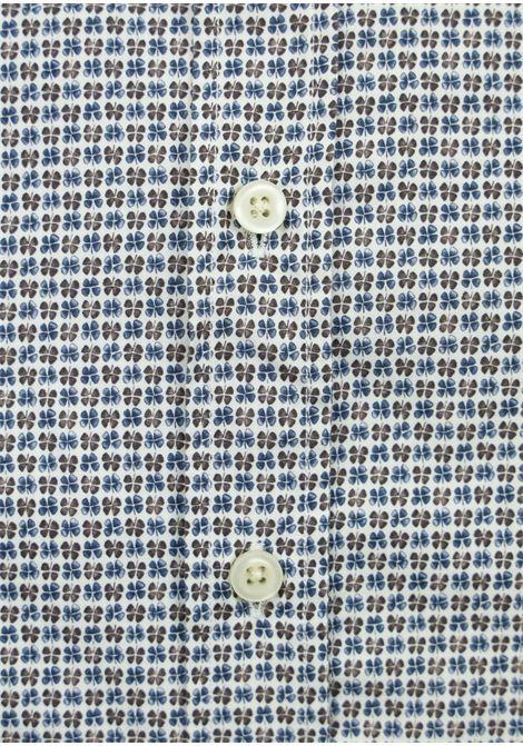 Camicia in cotone fantasia geometrica BASTONCINO | Camicie | SART1695