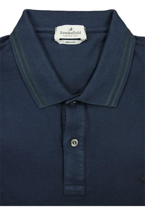 Long sleeves polo witlh logo BROOKSFIELD | Polos | 201B A024V0035