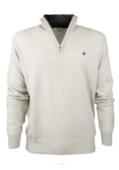 Half zip sweater  100% lambswool BROOKSFIELD | Knitwear | 203E K003133