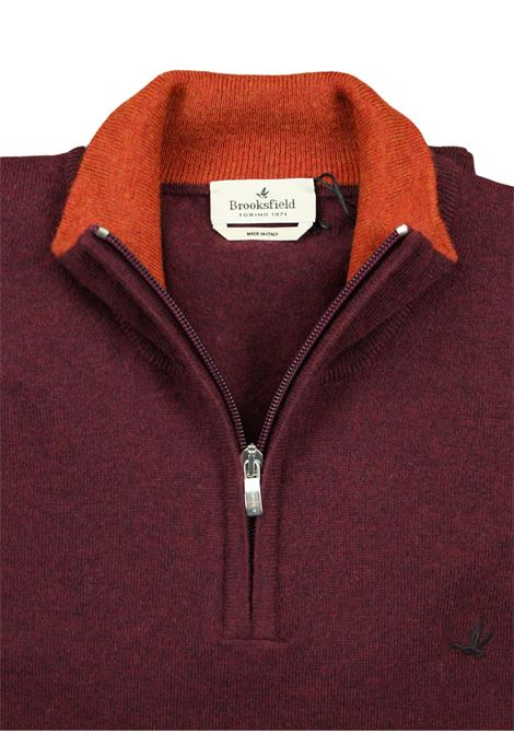 Half zip sweater  100% lambswool BROOKSFIELD | Knitwear | 203E K003143