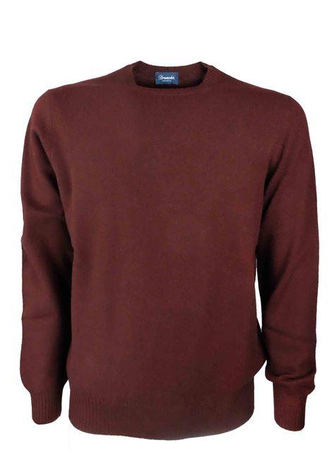 Pullover in 100% cashmere 2 fili DRUMOHR | Maglieria | D1K303395