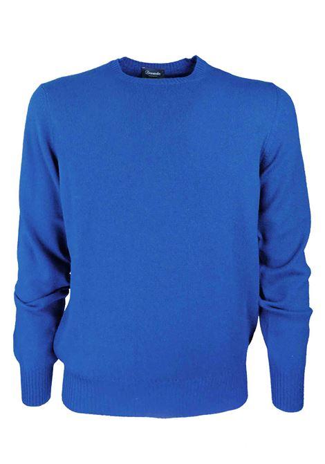 Pullover in 100% cashmere 2 fili DRUMOHR | Maglieria | D1K303777