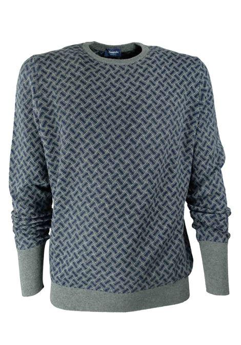 Pullover in 100% cashmere 2 fili DRUMOHR | Maglieria | D2K103AI39